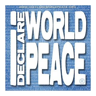 IDWP I Declare World Peace logo.